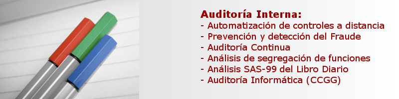 Auditor�a Interna